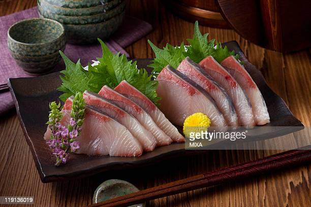 Sashimi of buri