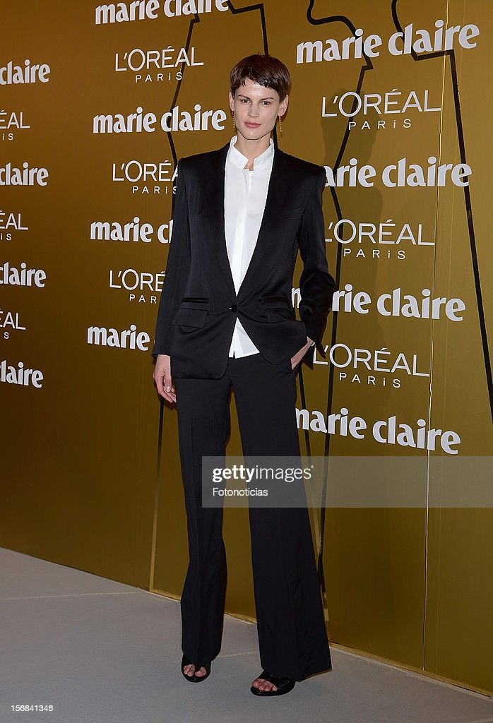 Saskia de Brauw attends 'Marie Claire Prix de la Mode 2012' ceremony at the French Ambassadors Residence on November 22, 2012 in Madrid, Spain.