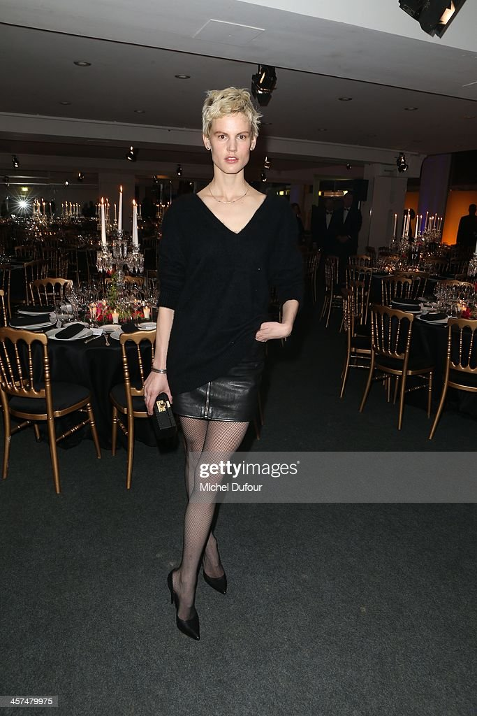 Saskia de Brauw attends the Annual Charity Dinner Hosted By The AEM Association Children Of The World For Rwanda on December 17, 2013 in Paris, France.