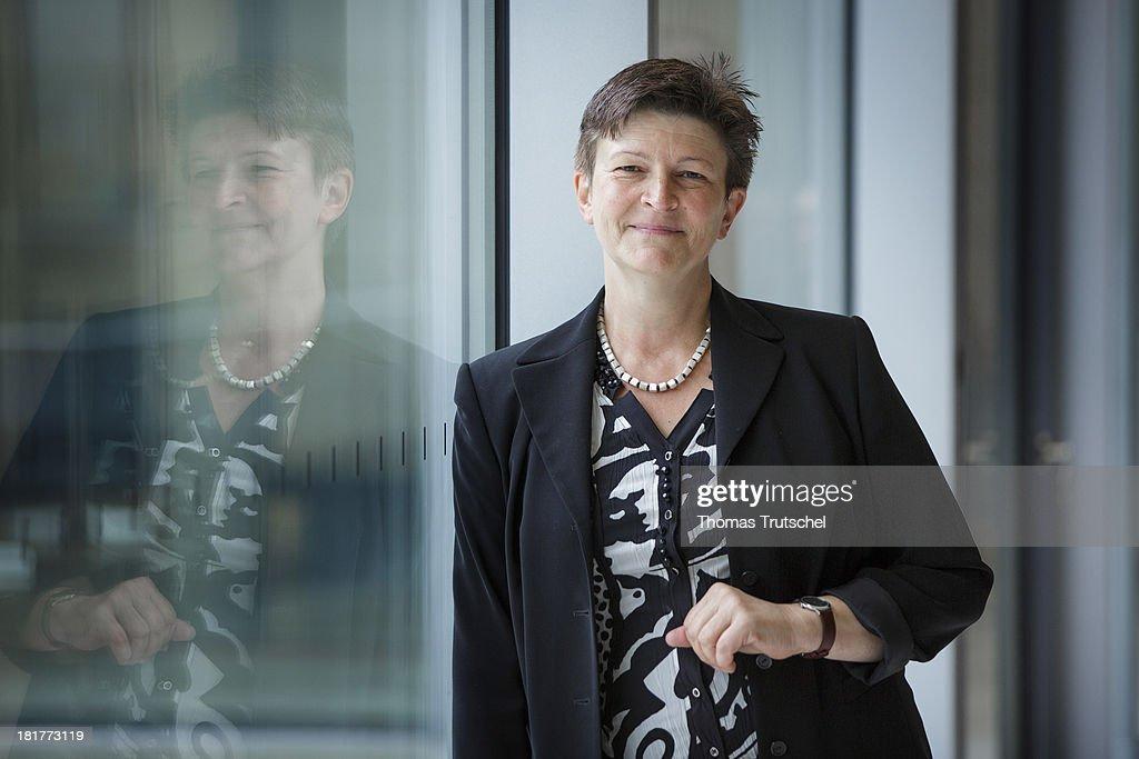 Saskia Esken, SPD, member of German Bundestag, poses for a photograph on September 24, 2013 in Berlin, Germany.