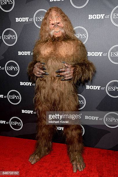 Sasquatch at the BODY at ESPYS Event on July 12th at Avalon Hollywood