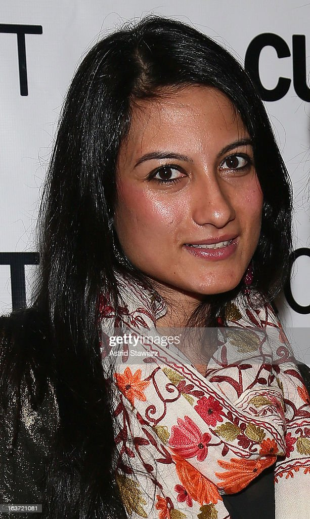 Sassi Basir attend 'Shaheed: The Dream And Death Of Benazir Bhutto' Off Broadway Opening Night at Culture Project on March 14, 2013 in New York City.