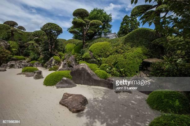 Sata Tamiko Garden at Chiran Samurai Village Chiran was home to more than 500 samurai residences during the late Edo period The samurai homes and...