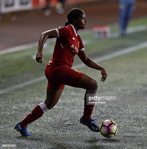 Satara Murray of Liverpool Ladies during the Women's Super League match between Liverpool Ladies and Sheffield FC Ladies at Select Security Stadium...
