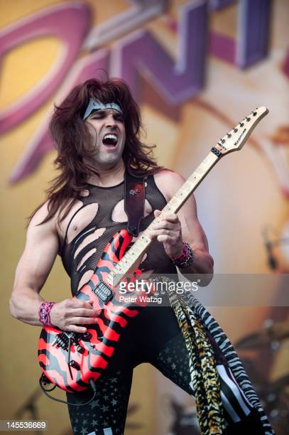 Satchel of Steel Panther performs on stage during the first day of Rock Am Ring on June 01 2012 in Nuerburg Germany