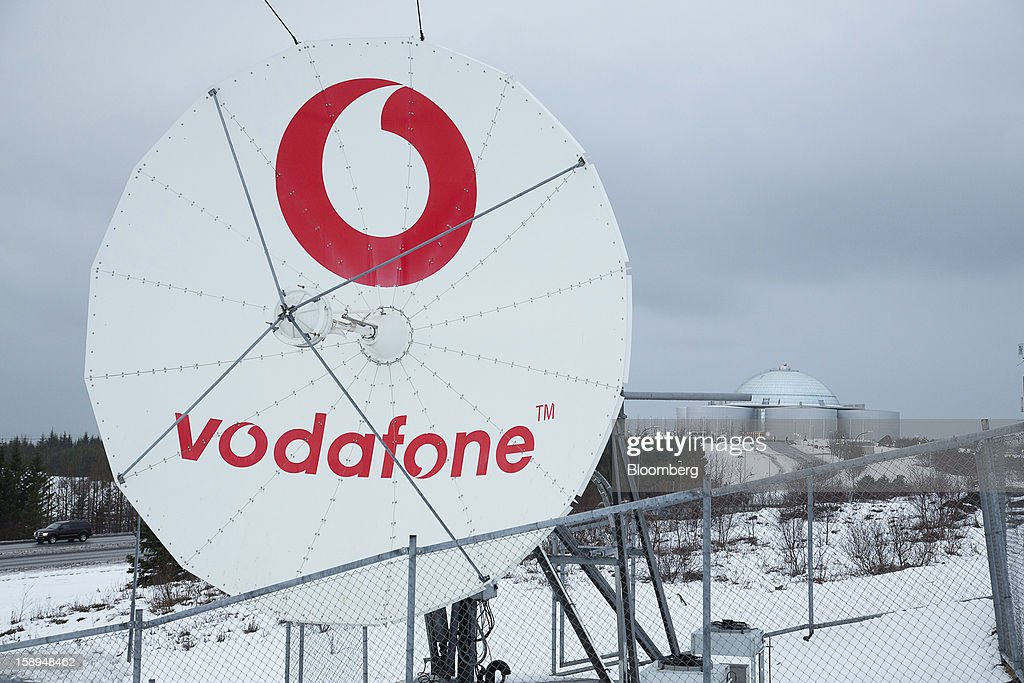 A satellite communication dish operated by Vodafone Iceland Fjarskipti hf stands in Reykjavik, Iceland, on Wednesday, Jan. 2, 2013. Creditors of Iceland's three biggest failed banks are fighting for a waiver to krona controls imposed in 2008 amid risks pay-outs will be delayed beyond 2015. Photographer: Arnaldur Halldorsson/Bloomberg via Getty Images