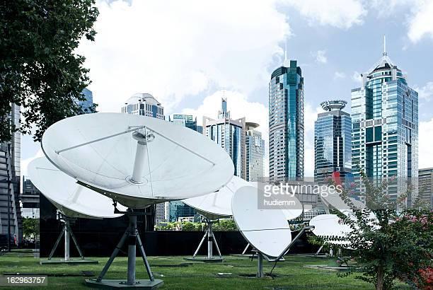 Comunicazioni satellitari a Shanghai