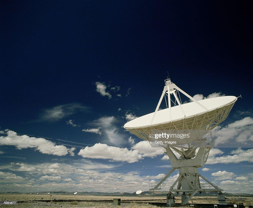 Satellite dish field, Socorro, New Mexico, USA : Stock Photo