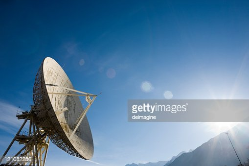 Satellite dish for Telecommunication