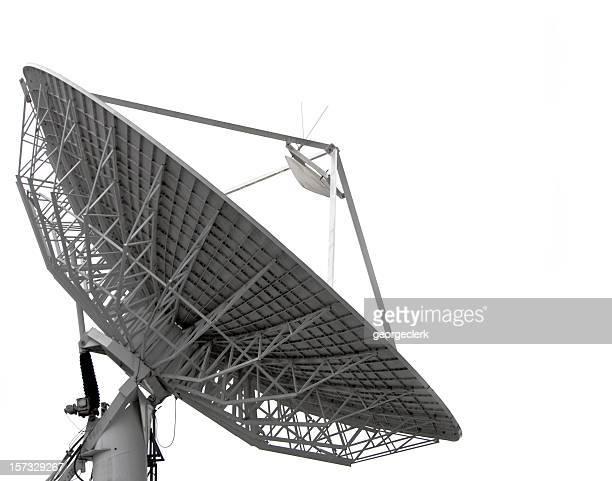 Isoliert, Satellitenschüssel