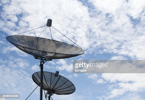Satellite dish : Stock Photo