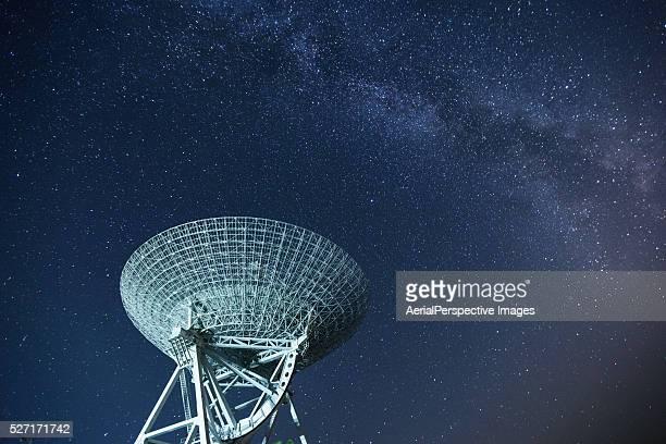 Satellite Dish Reaching For The Stars