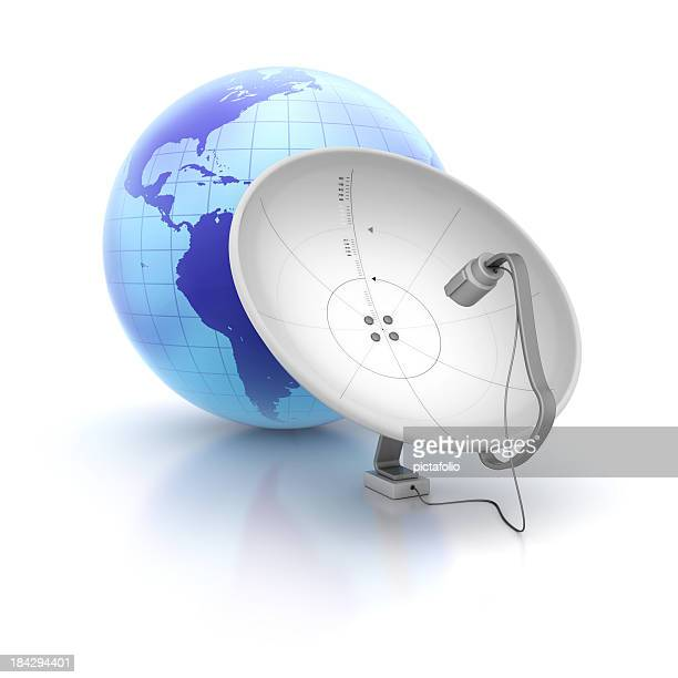 satellite dish receiver