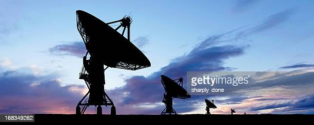 XXXL satellite dish silhouette