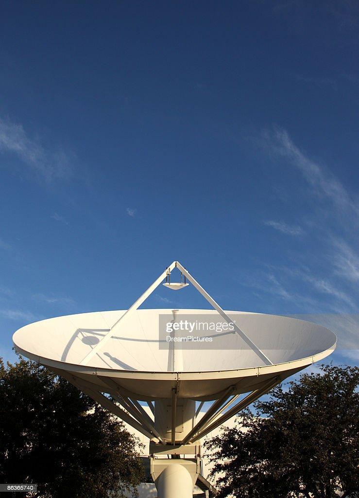 Satellite dishes at broadcast studio.  : Stock Photo