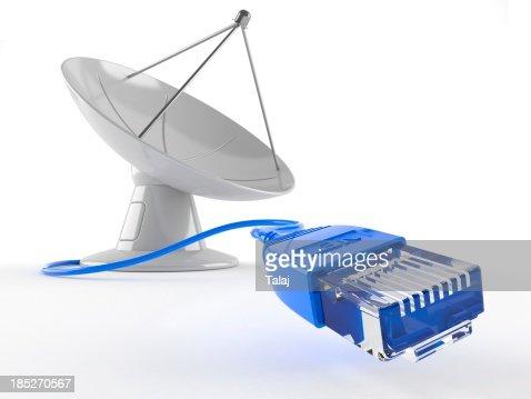 Connessione internet satellitare
