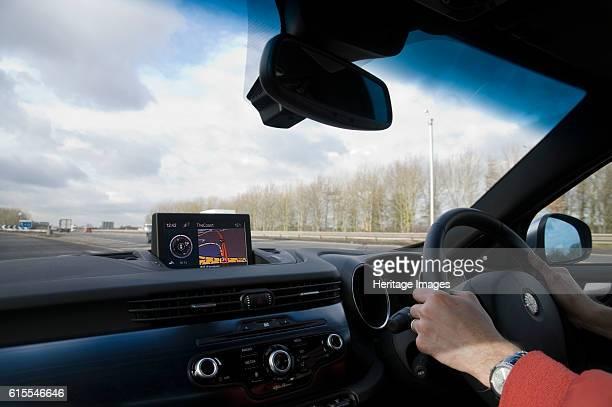 Satellite navigation system in Alfa Romeo Giulietta 2011 Artist Unknown