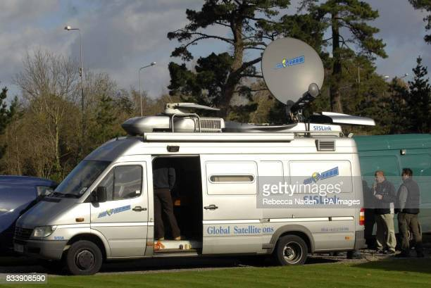 SIS Satellite van at Fontwell Racecourse Picture date Friday November 9 2007 Photo credit should read Rebecca Naden/PA