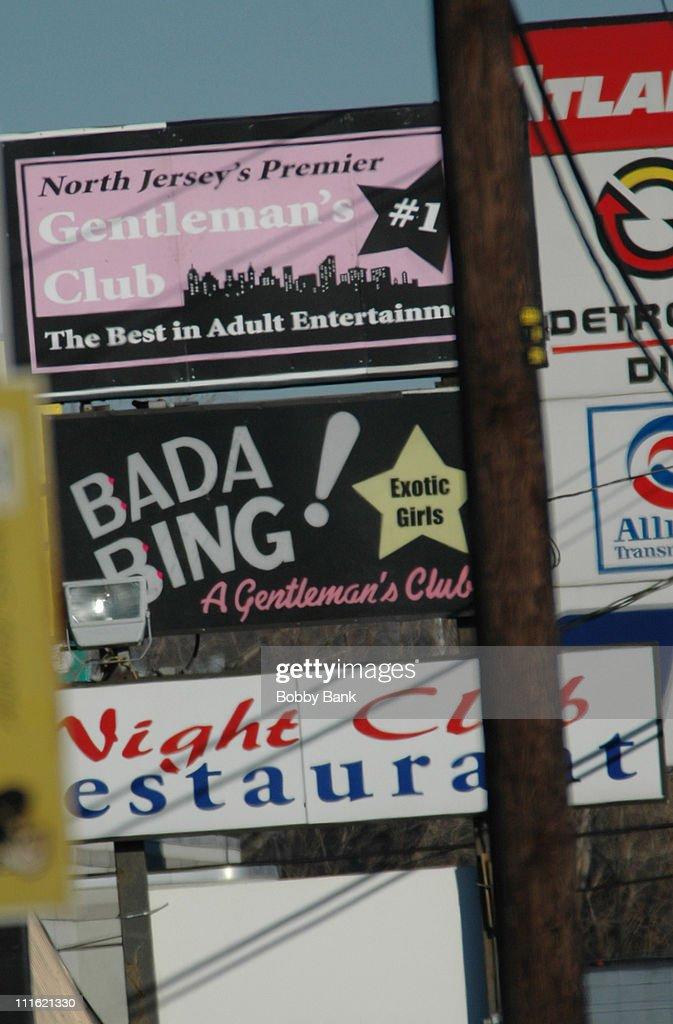 bada bing sopranos location