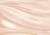 pink golden satin textile, silk, texture background