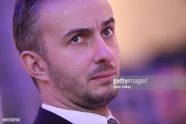 Satirist Jan Boehmermann attends the ADC Night of Honour 2017 on February 23 2017 in Berlin Germany