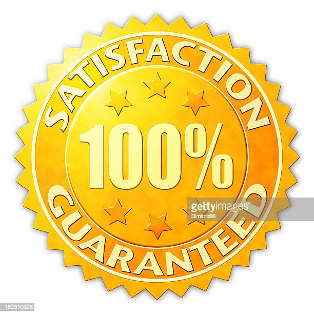 Satisfaction Guaranteed Badge
