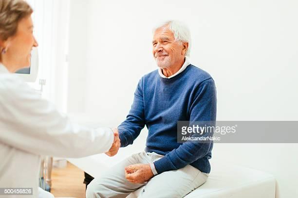 Zufriedene Patienten