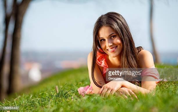 Satisfied woman
