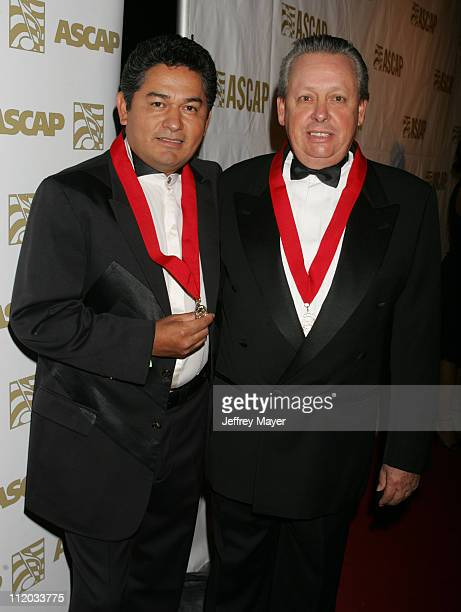 Sato and Eduardo Baptista during ASCAP El Premio Music Awards at Beverly Hilton Hotel in Beverly Hills California United States