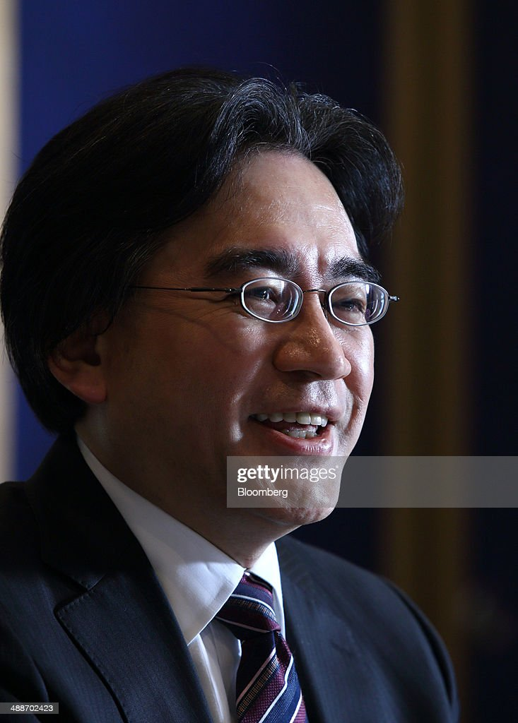 <a gi-track='captionPersonalityLinkClicked' href=/galleries/search?phrase=Satoru+Iwata+-+Businessman&family=editorial&specificpeople=815873 ng-click='$event.stopPropagation()'>Satoru Iwata</a>, president of Nintendo Co., speaks during an interview in Tokyo, Japan, on Thursday, May 8, 2014. Nintendo, the Japanese maker of video-game machines struggling to win over consumers with its latest generation of devices, plans to expand in emerging markets with new gaming devices starting next year. Photographer: Tomohiro Ohsumi/Bloomberg via Getty Images