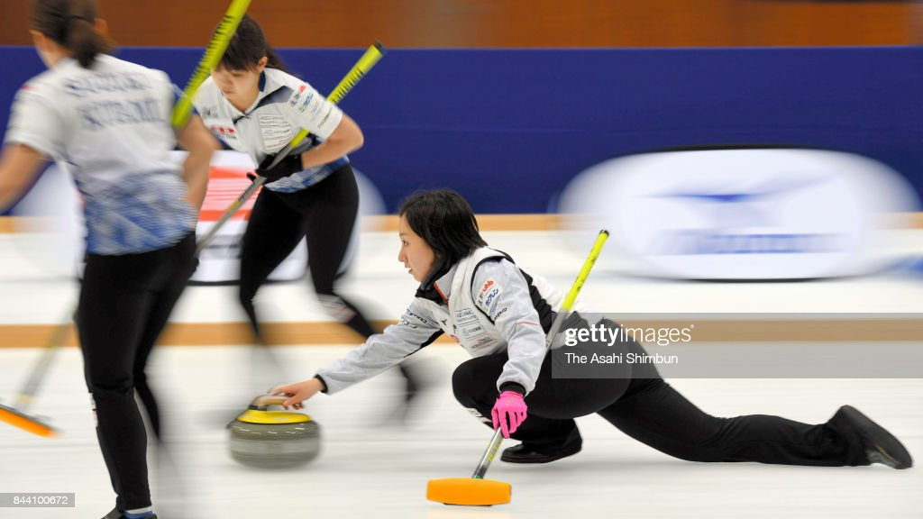 Japan Women's Curling Olympic Qualifier - Game 1