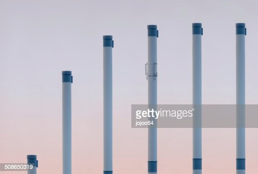 Saturation Pipes : Stock Photo