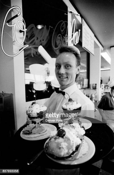Saturday afternoon at Watson's Soda Jerk Michael McGee is also an actor Credit The Denver Post