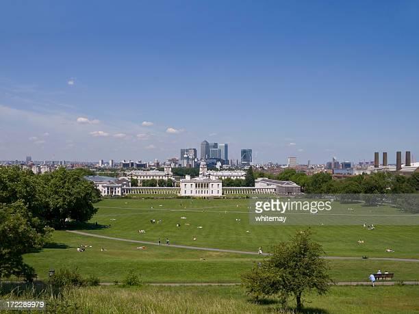 土曜の午後の Greenwich