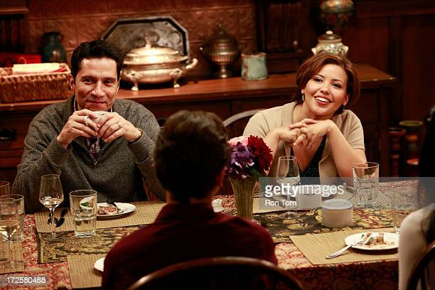 THE FOSTERS 'Saturday' Stef and Lena invite Lexi Rivera's very protective Catholic parents to dinner in the episode titled 'Saturday' airing Monday...