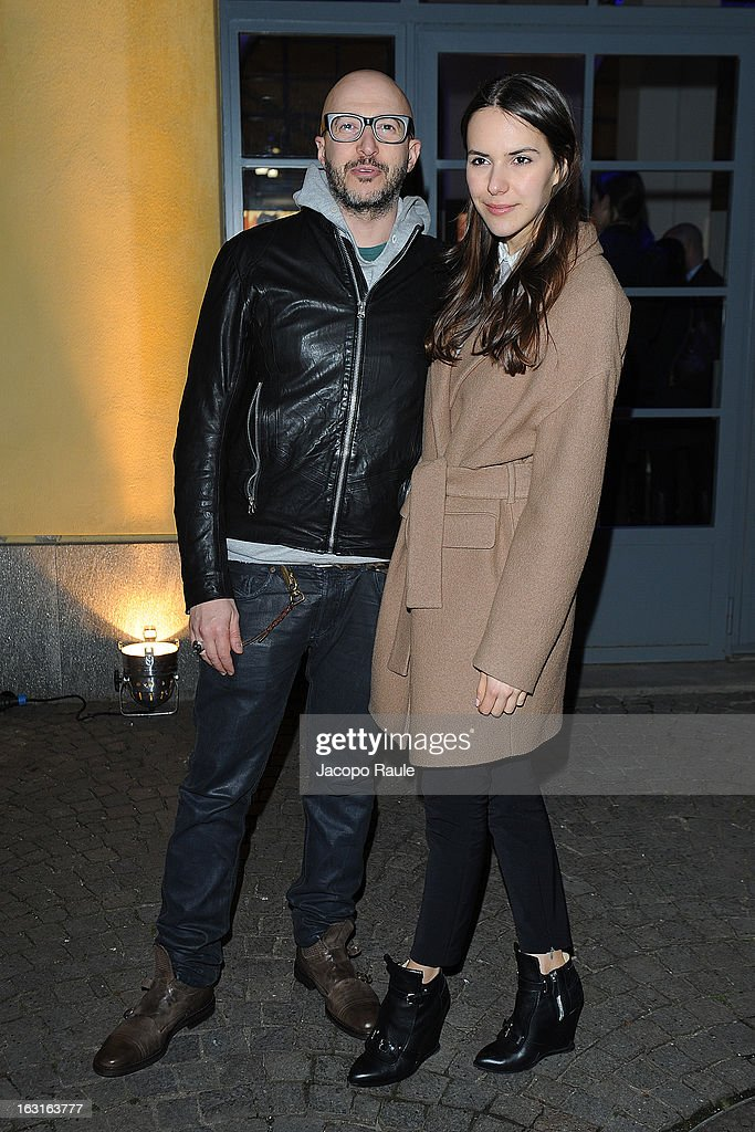 Saturnino Celani attends Marcolin Hosts 'Sguardi d'Atelier' Exhibition on March 5, 2013 in Milan, Italy.