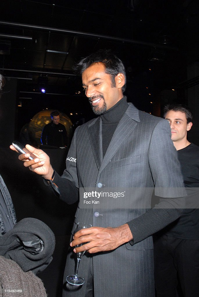 Satya Oblet attends the I-Pod Paris Launch Party at the Bibliotheque <a gi-track='captionPersonalityLinkClicked' href=/galleries/search?phrase=Francois+Mitterrand&family=editorial&specificpeople=208938 ng-click='$event.stopPropagation()'>Francois Mitterrand</a> on November 28, 2007 in Paris, France.