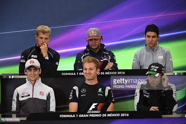 Sauber F1 Team Swedish Marcus Ericsson Scuderia Toro Roso Spanish Carlos Sainz Jr Manor Racing Team French Esteban Ocon Hass F1 Team Mexican Esteban...