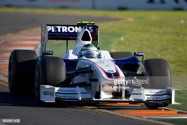 BMW Sauber's Nick Heidfeld during the Australian Grand Prix at Albert Park Melbourne Australia