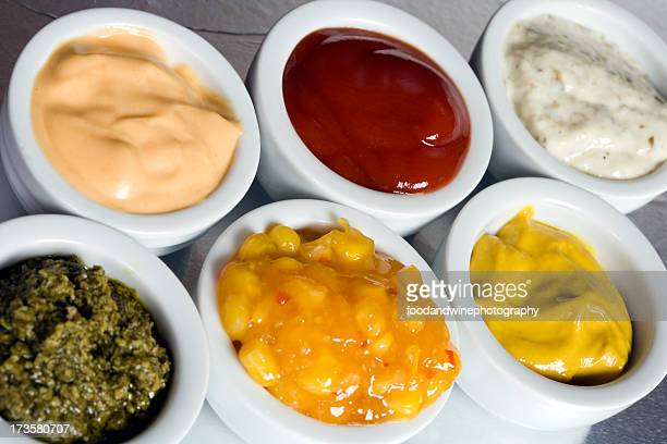 Selezione di salsa