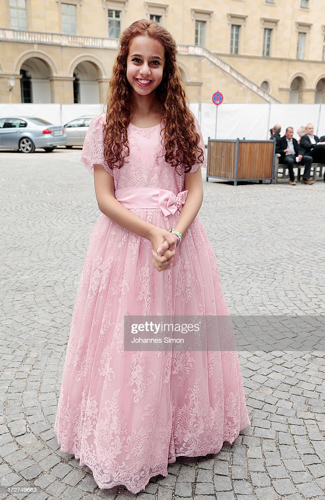 Saudi Arabian actress and award winner Waad Mohammed arrives for the Bernhard Wicki Award ceremony at Munich Film Fesitval on July 4, 2013 in Munich, Germany.