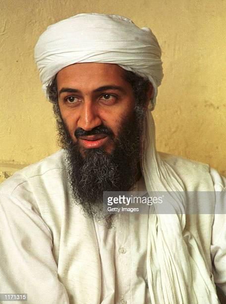 Saudi dissident Osama bin Laden in an undated photo October 10 2001 Afghanistan's ruling Taliban lifted restrictions on Bin Laden giving him...