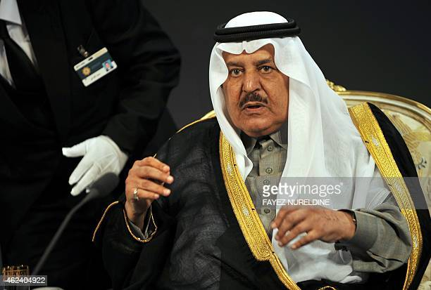 Saudi Interior Minister Prince Nayef bin Abdul Aziz attends the 33rd King Faisal International Prize ceremony in Riyadh on March 13 2011 AFP...