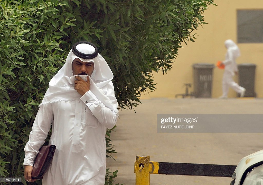 A Saudi man walks towards the King Fahad hospital in the city of Hofuf, 370 kms East of the Saudi capital Riyadh, on June 16, 2013. Four people have died from the MERS virus in Saudi Arabia, bringing the death toll from the SARS-like virus in the kingdom to 32, the health ministry said. The World Health Organisation announced that the global death toll from MERS had reached 33, with 28 of them in the kingdom. The virus is a member of the coronavirus family, which includes the pathogen that causes Severe Acute Respiratory Syndrome (SARS). AFP PHOTO/FAYEZ NURELDINE