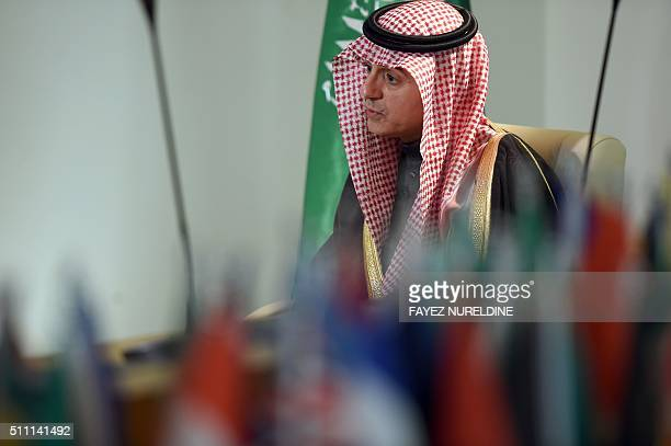Saudi Minister of Foreign Affairs Adel alJubeir gives an interview to AFP at his ministry in the capital Riyadh on February 18 2016 Saudi Arabia's...