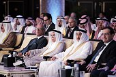 Saudi Minister of Oil and Mineral Resources Ali alNaimi attends the opening day of Energy Forum in Manama on November 19 2015 AFP PHOTO/MOHAMMED...