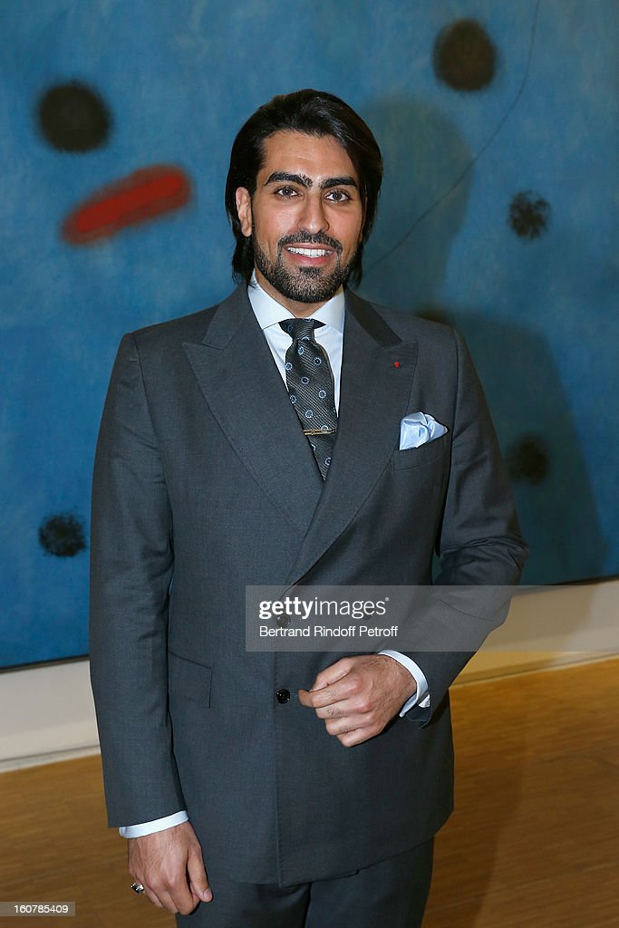 Saudi Prince Salman Bin Abdulaziz Bin Salman Al-Saud attends the 8th Annual Dinner of the 'Societe Des Amis Du Musee D'Art Moderne' at Centre Pompidou on February 5, 2013 in Paris, France.