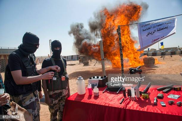 Saudi Special Emergency Forces under the Ministry of Interior train at the Counterterrorism Training School in Riyadh Saudi Arabia March 4 2013 The...