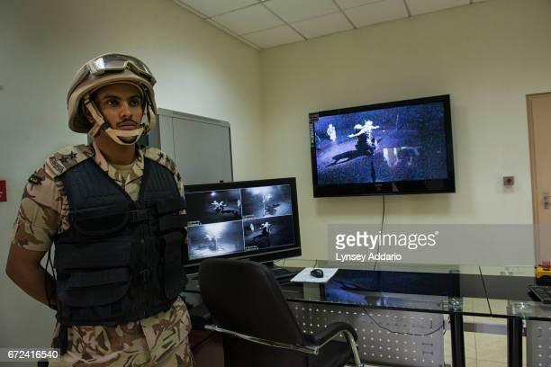 Saudi Special Security Forces camp under the Ministry of Interior train at the Counterterrorism Training School in Riyadh Saudi Arabia March 5 2013...