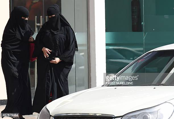 Saudi women leave mall in Riyadh before taking taxi as elsewhere a grassroots campaign planned to call for an end to the driving ban for women in...